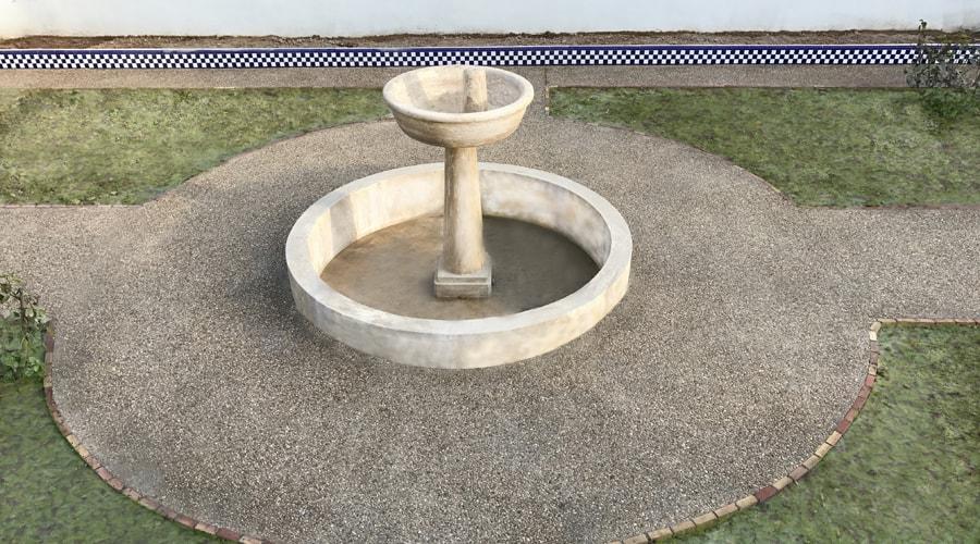 Hormigón lavado en Valencia (Godella)
