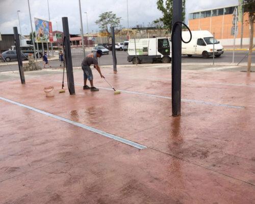 pavimentacion pavimentos hormigon impreso trabajo