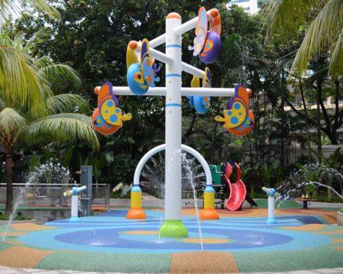 Pavimento caucho parques infantiles Valencia
