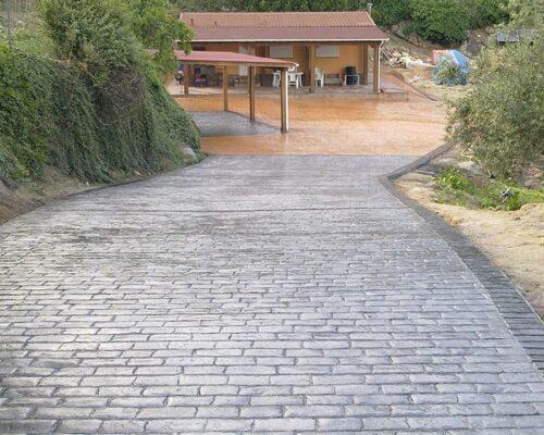 Pavimentos de hormigón impreso valencia